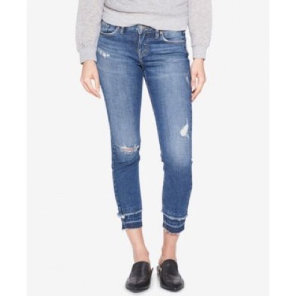 a8eb8b6bca966 Silver Jeans Co. Aiko Mid Rise Skinny Ankle Jea